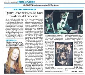 Burlesque in salsa blues con Valentina Mattarozzi, 30 aprtagliata